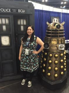comicpalooza with dalek